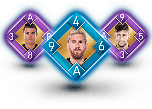 Flip Football strategic football card game