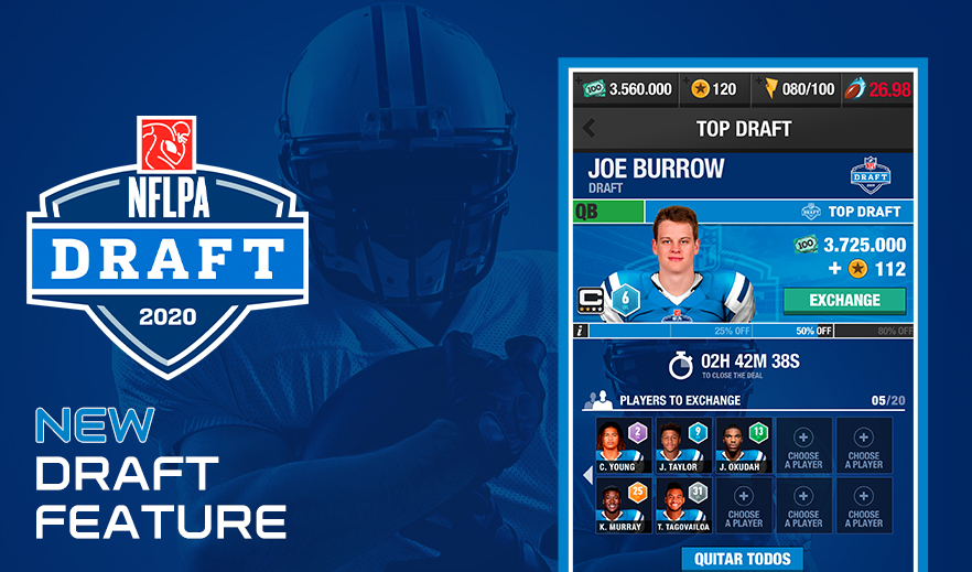 NFL MANAGER - DRAFT FEATURE